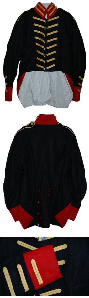 American Marine Enlisted Men's Coat [#1812AC2]