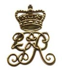 British Cartridge Box Badge - Scottish Regiments [#22B]