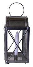 Watch Lantern with Wire Guards and Domed Top [#251R]
