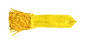 British or American Artillery Epaulet, Gold / Yellow [#255A]