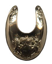 British Officer Gorget, Gold Plated [#34G]