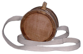 Interlock Wooden Canteen - 1 Quart [#416]