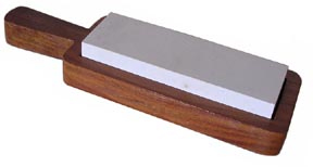 Knife Sharpening Stone with Holder [#537S]