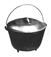 Round Bottom Kettle, 6-1/2 Quart [#8RB]