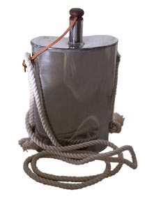 Stainless Steel F&I War Canteen - 1 Quart [#98SS]