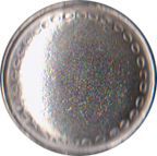 Large Domed Pewter Button, 1-1/8
