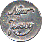New Jersey Regiment Pewter Button, 1