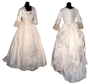 18th Century Bridal and Wedding Attire
