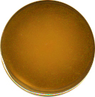 Gold Plated Button, 7/8