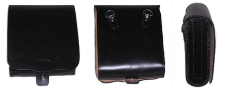 USMC Band Leather Pouch [#USMC2]