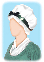 Martha Washington Cap [#GMWC1]