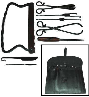 Hand Forged Surgeon's Kit [#GMEDKIT]