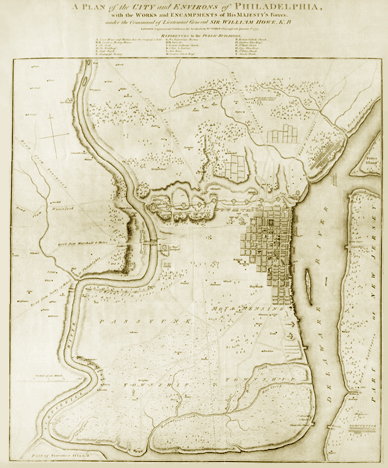 Map of Philadelphia, 1777-1778 [#202]