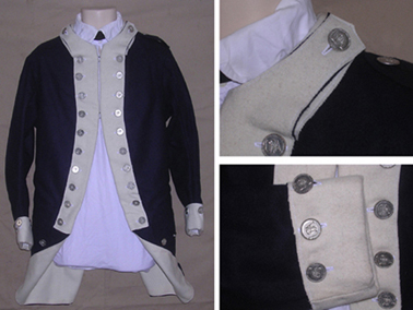 1781 Continental Line Contract Coat [#MC1]