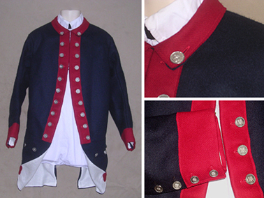 1777 French Pattern Lottery Coat [#MC6]