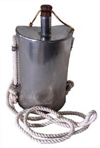 Stainless Steel British Tin Canteen - 1 Quart [#71SS]