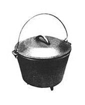 Round Bottom Kettle, 4-1/2 Quart [#7RB]