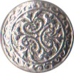"Small Civilian Pewter Button, 5/8"" [#GPB31]"