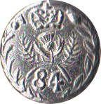 "84th Royal Highland Regiment Pewter Button, 1"" [#GPB84]"
