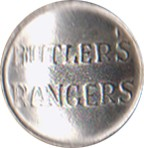 "Butler's Rangers Pewter Button, 1"" [#GPBBR]"