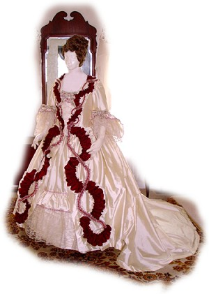 "18th Century Bridal and Wedding Attire ""Style 4"" [#GBG9]"