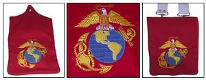 USMC Band Embroidered Pouch Cover [#USMC3]
