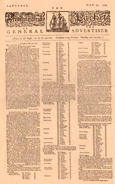 The Pennsylvania Packet - 1779 [#GN1]