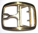 Soldier's Shoe Buckle, Brass [#6]