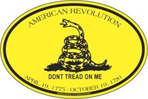 Don't Tread on Me Sticker [#RWS4]