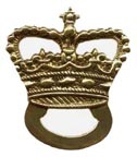 British Cartridge Box Badge - Royal Artillery [#122B]