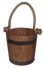 Oak Water Bucket [#277]