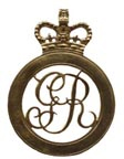 British Cartridge Box Badge - Grenadiers Guards [#296B]