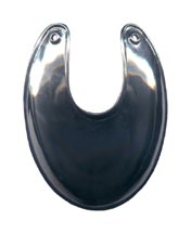 American Officer Gorget, White Bronze [#35WB]