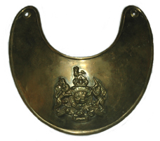 British F&I Gorget, Brass [#36GRB]