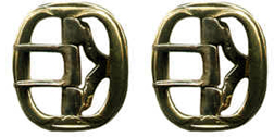 Officer & Gentlemen's Breech Strap Buckle, Brass [#80B]