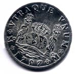 1757 Spanish Milled Dollar [#GM2]