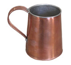 Copper Drinking Mug, 1 Pint [#91]