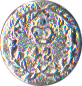 42nd Highland Regiment Pewter Button, 5/8