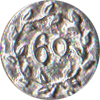 60th Regiment Pewter Button, 5/8