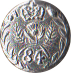 84th Royal Highland Regiment Pewter Button, 1