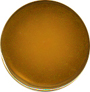 Gold Plated Button, 5/8