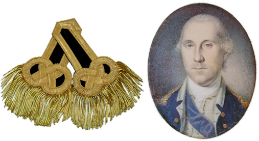 George Washington Epaulets (Pair) [#GWE1]