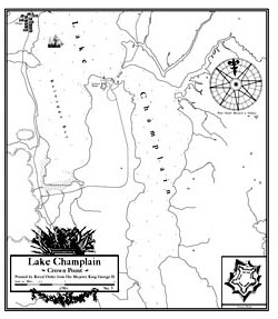 English Map of Crown Point [#EM2]