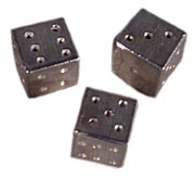 Pewter Dice [#GG2]