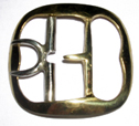 Civilian Shoe Buckle, Brass [#472]