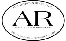 American Revolutionary War Sticker -