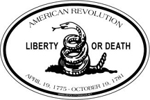 Liberty or Death Sticker [#RWS3]