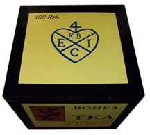 East India Company Tea Crate [#452T]